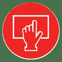 Digital Touchscreen Display